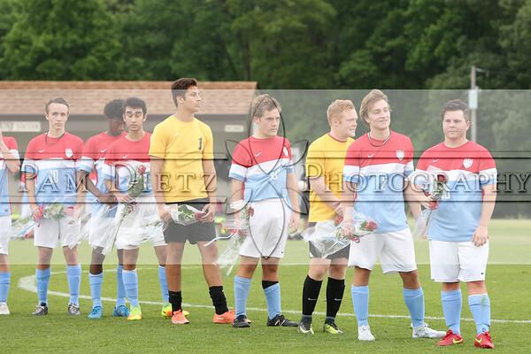 USJ Boys soccer Seniors 4-26-17