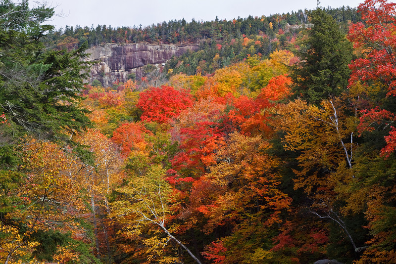 Autumn along the Kancamagus Highway