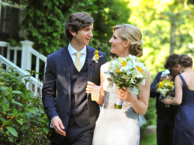 Maia and Teddy /  Garden Wedding