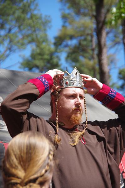 Jon Crowns himself King