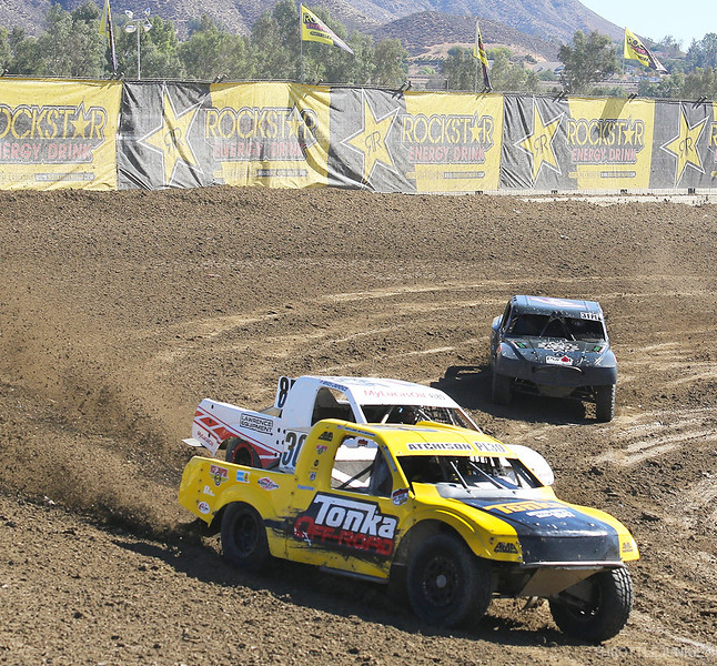 Lucas Oil off road racing Lake Elsinore last round