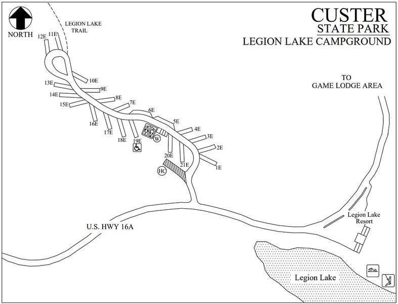 Custer State Park (Legion Lake Campground)