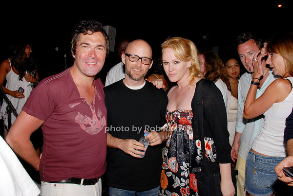 Daron Murphy, Moby and Lauran Dawn