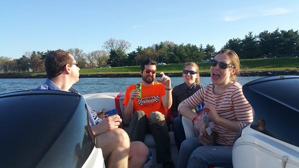 Cherry Blossom Boating 4-12-15