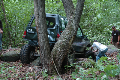 Rock Run Trail Cutting 2010