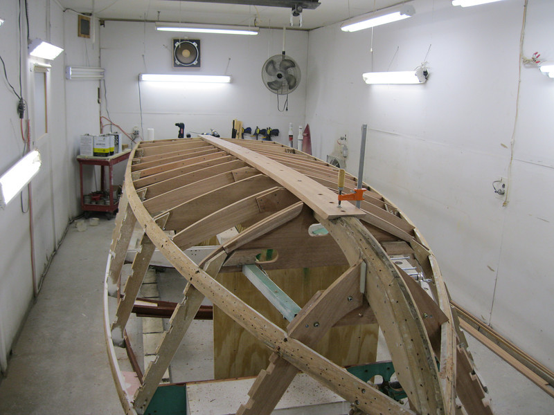 New keel fit.