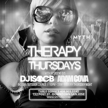 "<FONT SIZE=""1"">Therapy Thursdays @ Myth Taverna & Lounge 12.11.14"