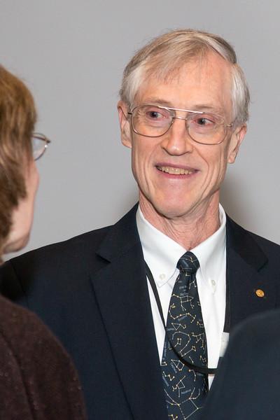 John Mather -- NASA/GSFC Career Celebration for John Mather (40 years), Floyd Stecker (50 years), and Peter Serlemitsos (55 years), Greenbelt, Nov 17, 2016.