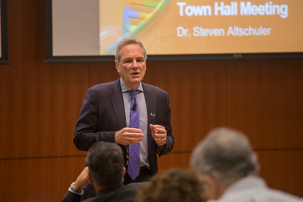 Town Hall Meetings with Dr. Steven Altschuler -May 2016