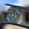 4.71ct Antique Asscher Cut Diamond GIA WX VS2 30