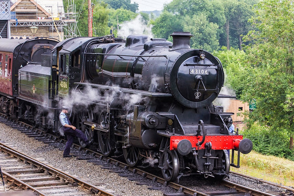 Group 3 Stonehouse - Severn Valley Railway 1st Aug 2014