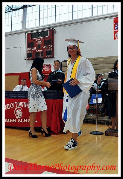 OTHS 2013 Graduation - Presentation of Diplomas