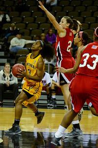 NKU Women's Basketball vs WKU 11-23-2013