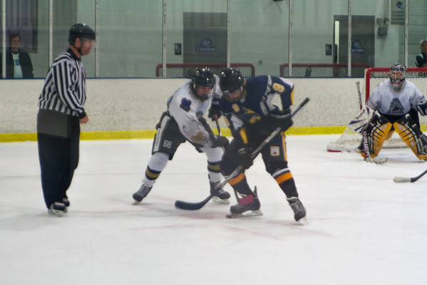 Delaware Junior Blue Hens at Hatfield Ice Dogs 16A White 10-6-2013