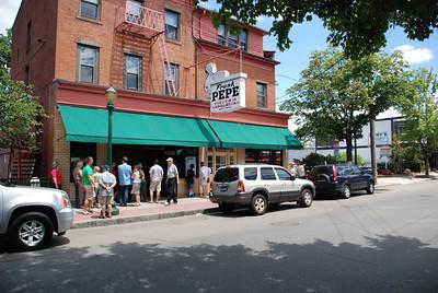 2011 06 30 + Jul 1:  Sturbridge MA (end) + New Haven CT