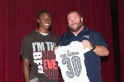 2013 SMHS Varsity Jersey Ceremony
