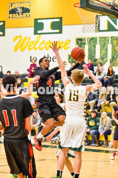 Boys Basketball - Varsity:  Heritage vs Loudoun Valley 2.9.2015 (by Michael Hylton)