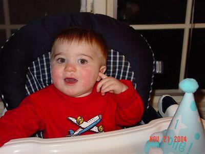 Ian Bryan's 1st Birthday