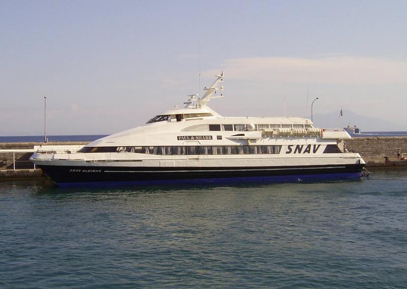 2007 - DSC SNAV ALCIONE in Capri.