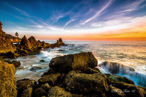 Corona Del Mar Sunset 1-17-18
