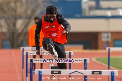 Boys Track and Field v West Potomac 2/6/21