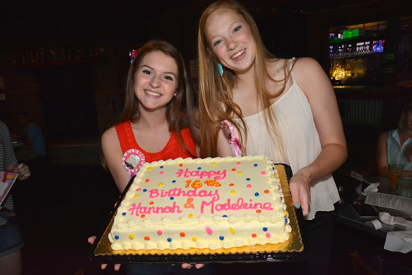 2014: Hannah and Madeleine's 16th Birthday Party