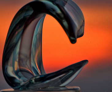 Sculpture & Sunset