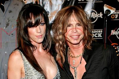 New York, NY - September 18:  The 35th Anniversary Ambassadors of Rock Tour Hard Rock Cafe, New York, USA.
