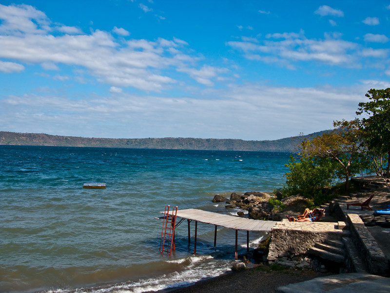Laguna de Apoyo, an old volcanic lake  Nicaragua