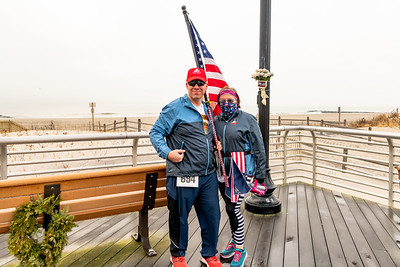 Andy and Shelley Dalbey at Long Beach Snowflake Race 2020
