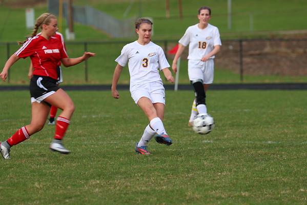 Soccer Girls vs. PawPaw - KCHS - 3/30/16