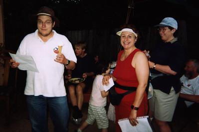 2001 Christmas Socialgaine