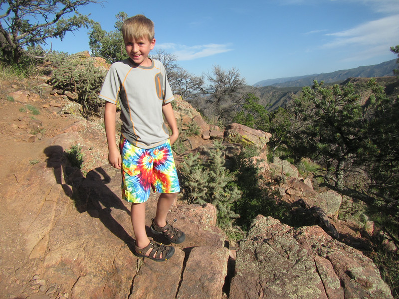 Jack at the Royal Gorge