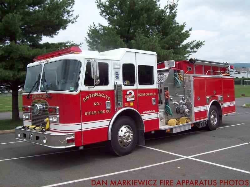 ANTHRACITE FIRE CO. ENGINE 2 2003 KME PUMPER