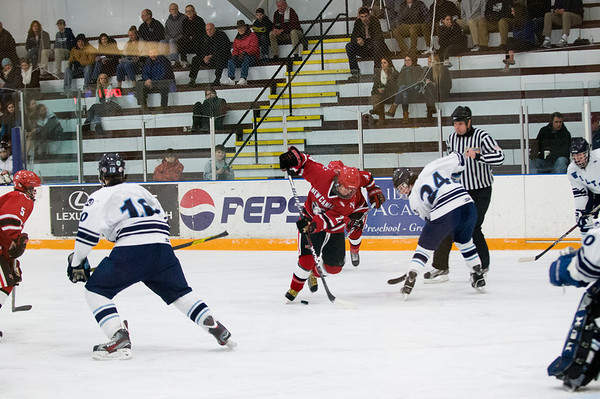 2013-01-11 NCHS vs Wilton boys hockey