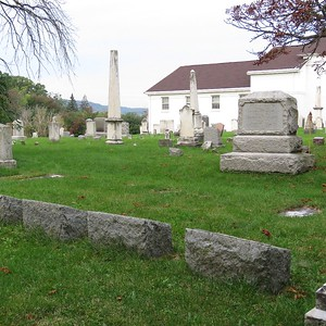 Lewiston Cemetery, North side, part 1, Sept. 2019