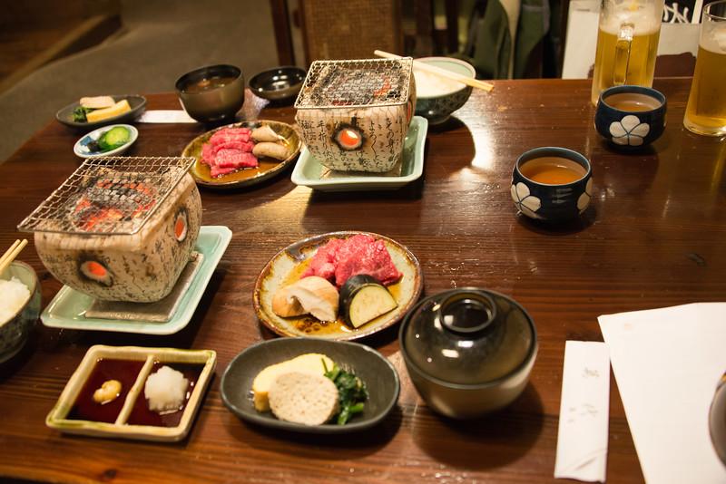 Dinner cooking Hida Beef-8450