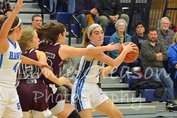 2020 Lady Hawks Basketball