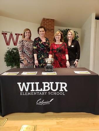 Wilbur imagine learning award