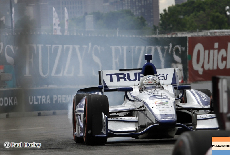 June 2: Sebstian Saavedra during the Chevrolet Detroit Belle Isle Grand Prix.