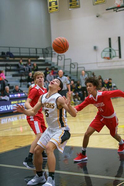 GHS Soph Basketball vs Springfield Jan. 21, 2019