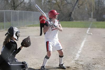 Girls Varsity Softball - 4/10/2006 Newaygo