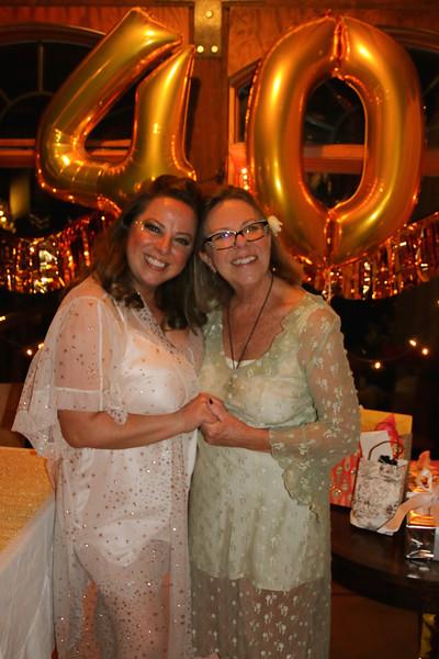 Brandie's fabulous 40th B day Pajama Party!