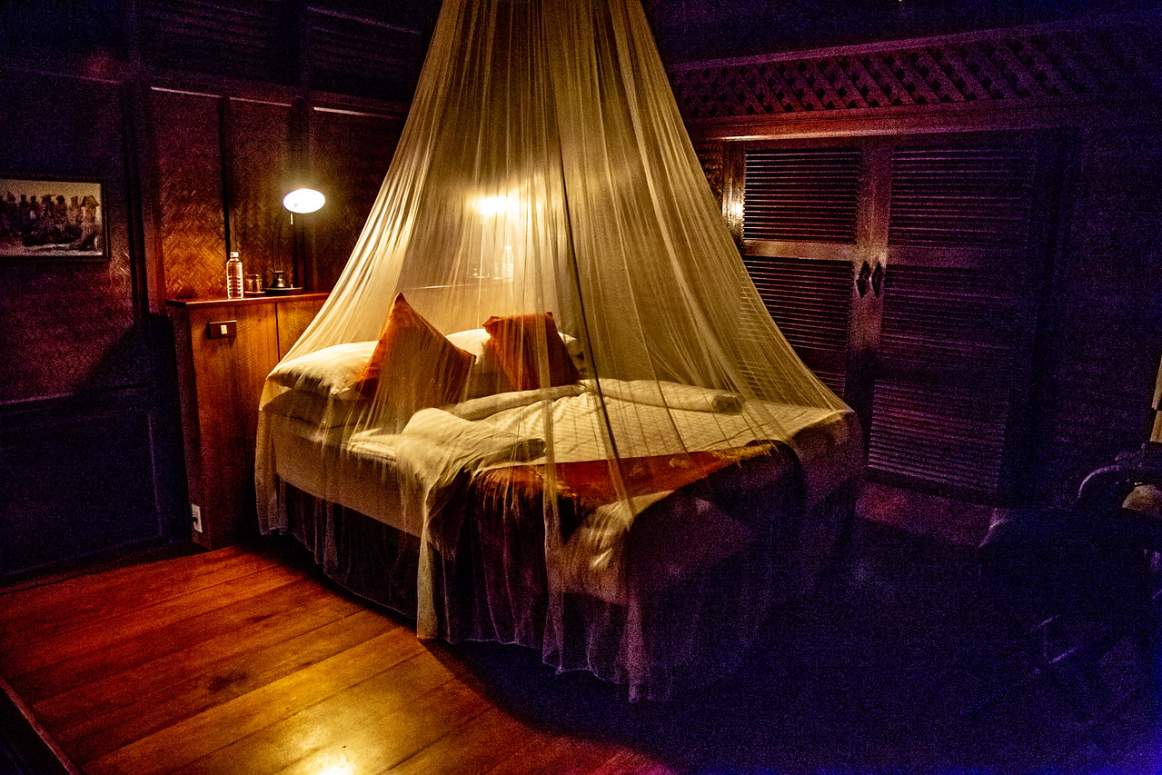 Ready for Bed at Luang Say Lodge Mekong River Pakbeng Laos