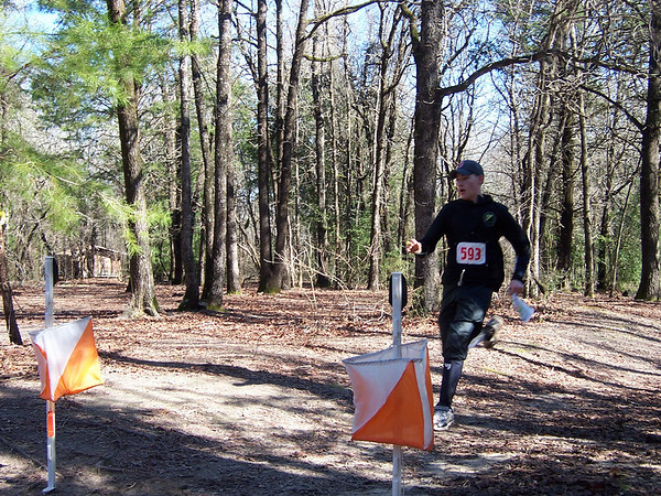 Orienteering Takes Third Place in Texas