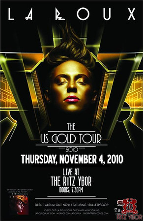 "La Roux ""The Gold Tour"" November 4, 2010"
