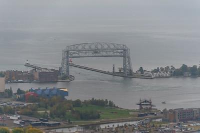 2020 09 26: Enger Tower Views, Fog, Duluth, MN