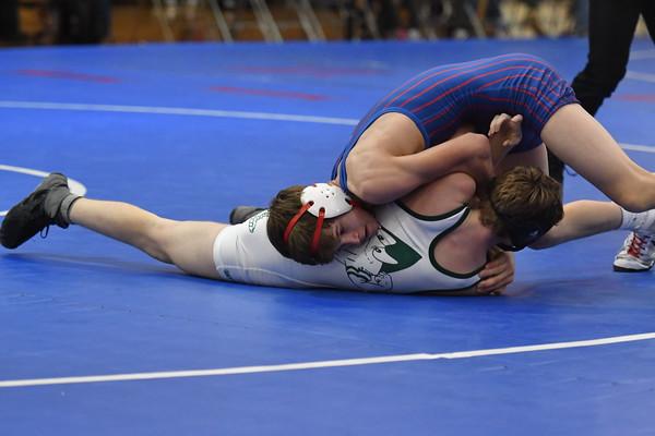 Wrestling vs Syracuse