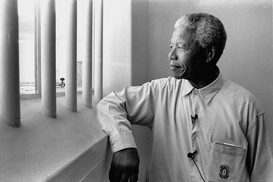 Nelson Mandela prison cell reference
