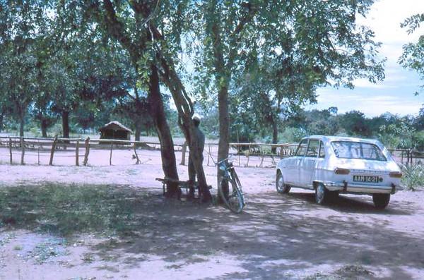 Fronteira com o Congo, perto do Dundo
